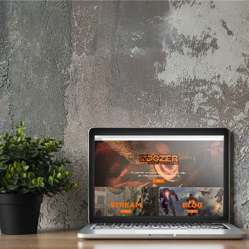 Gaming Community Website Design