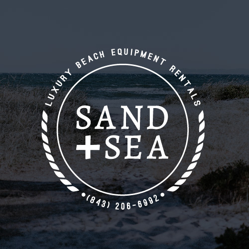 Sand and Sea Logo and Branding